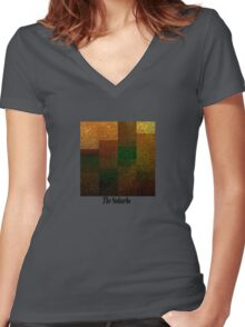 The Suburbs Women's Fitted V-Neck T-Shirt