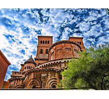 Saint Nicholas Cathedral, Monaco Photographic Print