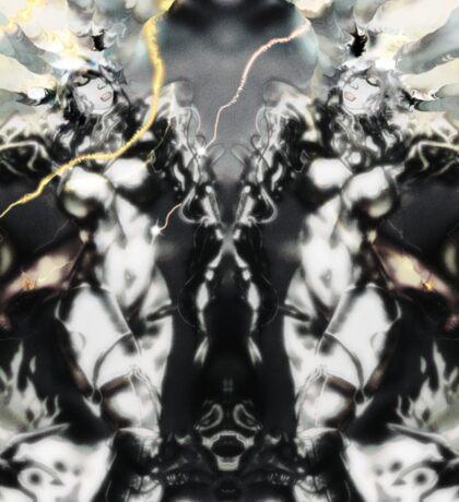 Venusia Silverage [Digital Figure Drawing-Monotone Mix] Sticker