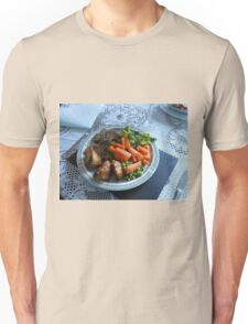 Spring Lamb and Vegetables Unisex T-Shirt