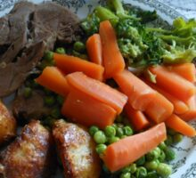 Spring Lamb and Vegetables Sticker