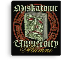 Miskatonic University Alumni Canvas Print
