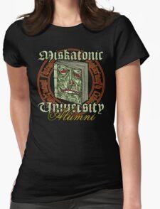 Miskatonic University Alumni Womens Fitted T-Shirt