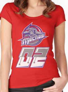 MECHAS 02 Women's Fitted Scoop T-Shirt