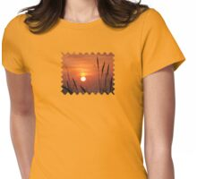 Honey Sky - JUSTART © Womens Fitted T-Shirt