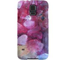 Pink hued ice dye Samsung Galaxy Case/Skin