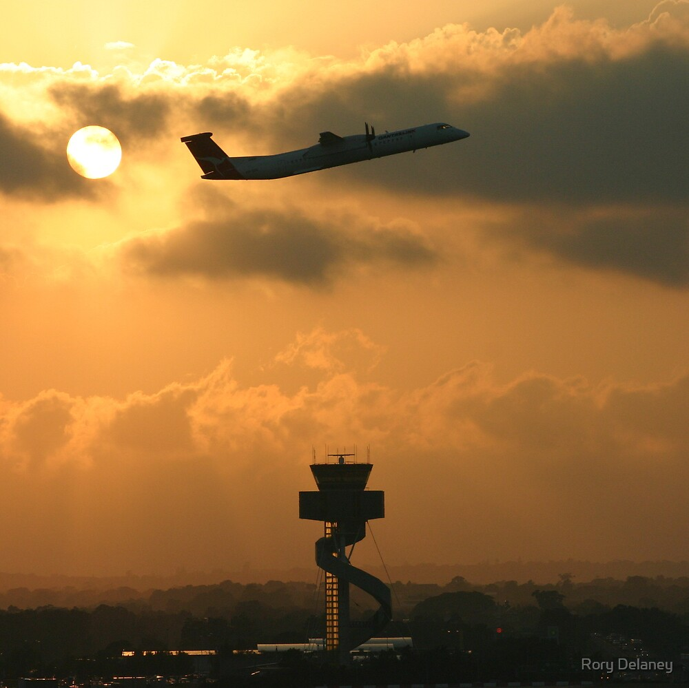 Sunrise take-off by Rory Delaney
