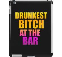 drunkest iPad Case/Skin