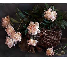 This Still Life with Peonies Photographic Print