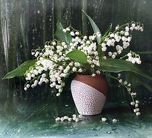Lily of the valley by Sviatlana Kandybovich