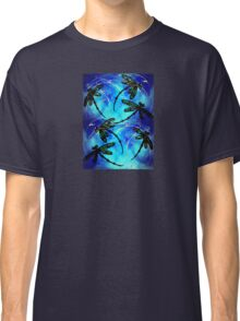 """Dragonfly Flit """"Electric Blue"""" Classic T-Shirt"""