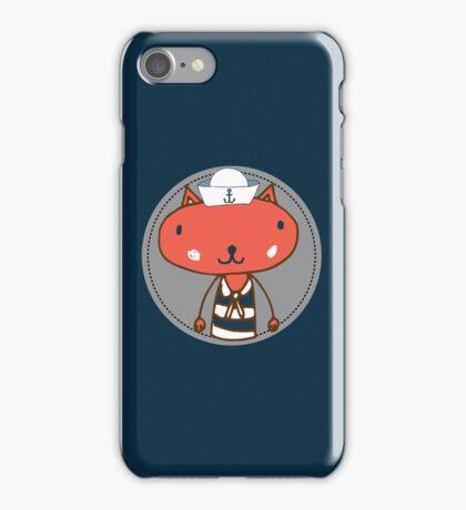 Nautical Adventures: Sailor Cat iPhone Case/Skin