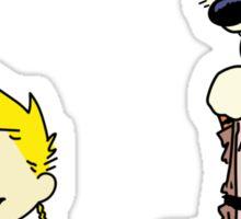 Calvin And Hobbes Star Wars Sticker