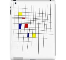 Mondrian, y'know, because art iPad Case/Skin