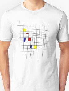 Mondrian, y'know, because art T-Shirt