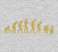 Evolution Ape To Geek Kids Clothes