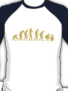 Evolution Ape To Geek T-Shirt