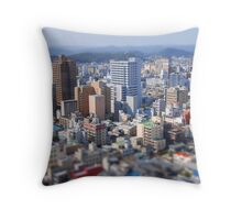 Toy Town Okayama Throw Pillow