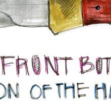 The Front Bottoms Talon Of The Hawk Sticker