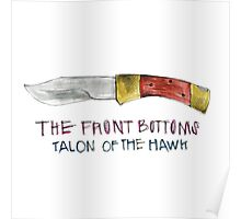 The Front Bottoms Talon Of The Hawk Poster
