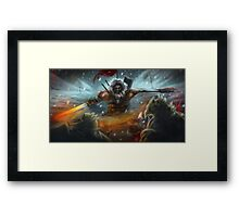 Rage of the Atmoran Framed Print