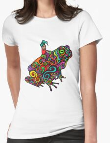 Gnome & Toad Womens Fitted T-Shirt
