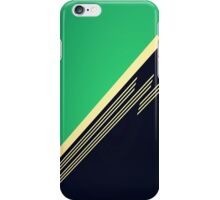 Vintage Retro Green Abstract iPhone Case/Skin