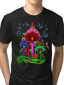 Five Little Gnomes Tri-blend T-Shirt