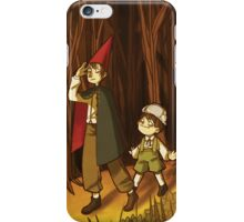 Over the Garden Wall (Stuff) iPhone Case/Skin