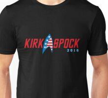 Kirk Spock 2016 Unisex T-Shirt