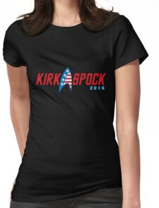 Kirk Spock 2016 Womens Fitted T-Shirt