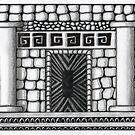 Tangle: Temple by Leoni Mullett