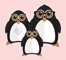 Penguin Family Kids Tee