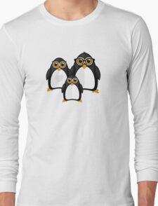 Penguin Family Long Sleeve T-Shirt