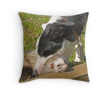 Head on the Chopping Block!   Throw Pillow