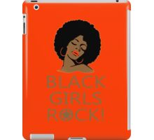 Black Girl Head - TShirts & Hoodies iPad Case/Skin