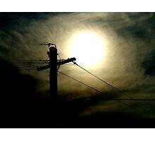 Sun Eye 1a Photographic Print