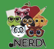 Nerd 3 - Black Kids Clothes