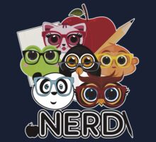 Nerd 3 - Black Kids Clothes