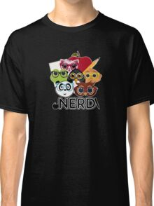 Nerd 3 - Black Classic T-Shirt