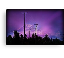 Starlit Rainier Canvas Print