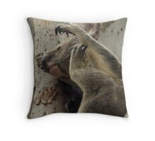 Mr Itchy Throw Pillow