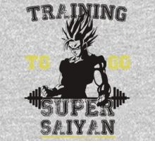 TRAINING TO GO SUPER SAIYAN! by GALAXE