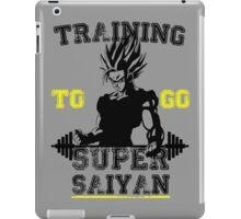 TRAINING TO GO SUPER SAIYAN! iPad Case/Skin