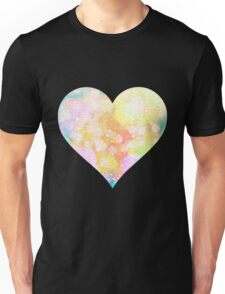 Painted Love Heart  Unisex T-Shirt