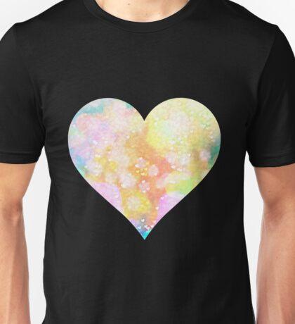Painted Love Heart  Unisex T-Shirt