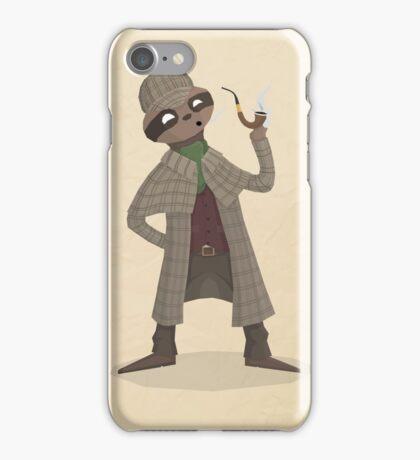 Slothlock Holmes iPhone Case/Skin
