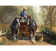 At Durdidwarrah Crossing Photographic Print