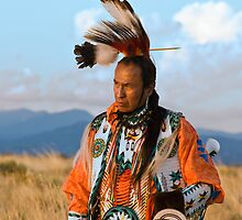 Native American Dancer Anthony Parker by Tomas Abreu