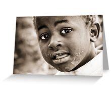 Yawo Village Kids Series #4 Greeting Card